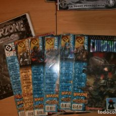 Juegos Antiguos: SON 7 REVISTAS MUTANT CHRONICLES Y LIBRO FOTOCOPIADO. Lote 104292207