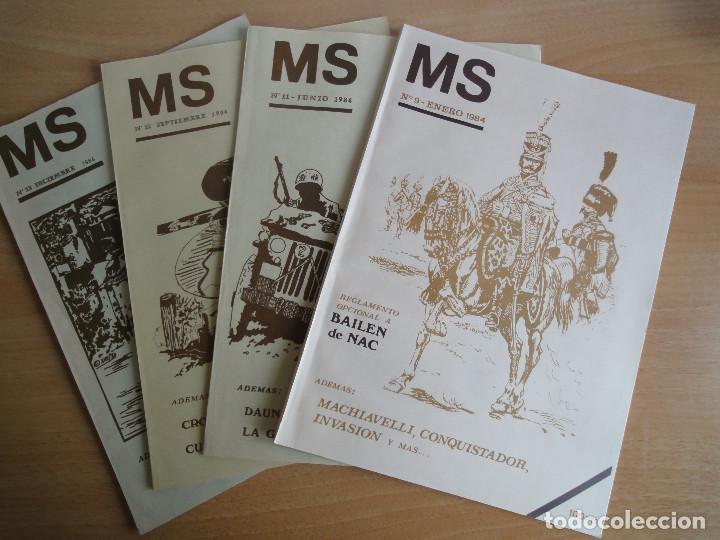 REVISTA DE CULTO MS NUMS 9, 11, 12 (1984) WARGAMES (Juguetes - Rol y Estrategia - Otros)