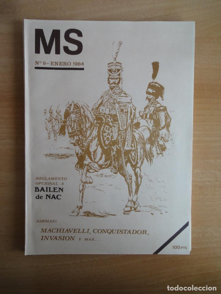 Juegos Antiguos: Revista de culto MS Nums 9, 11, 12 (1984) Wargames - Foto 3 - 104611435