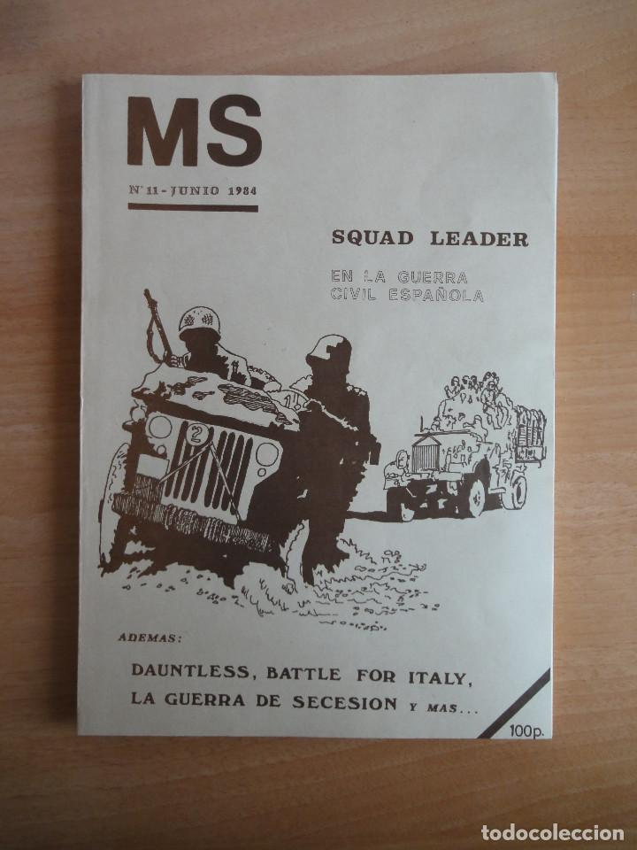 Juegos Antiguos: Revista de culto MS Nums 9, 11, 12 (1984) Wargames - Foto 4 - 104611435