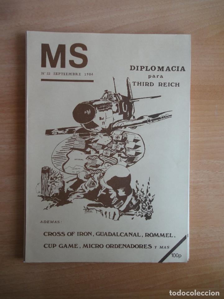 Juegos Antiguos: Revista de culto MS Nums 9, 11, 12 (1984) Wargames - Foto 5 - 104611435