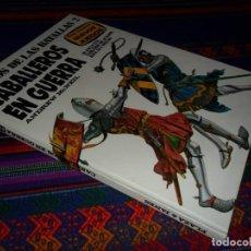 Juegos Antiguos: CON LAS FICHAS SIN RECORTAR. CABALLEROS EN GUERRA. JUEGOS DE LAS BATALLAS 2. PLAZA & JANÉS 1977 MBE.. Lote 104619355