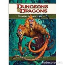 Juegos Antiguos: DUNGEONS DRAGONS - MANUAL DE MONSTRUOS 2. Lote 105020631