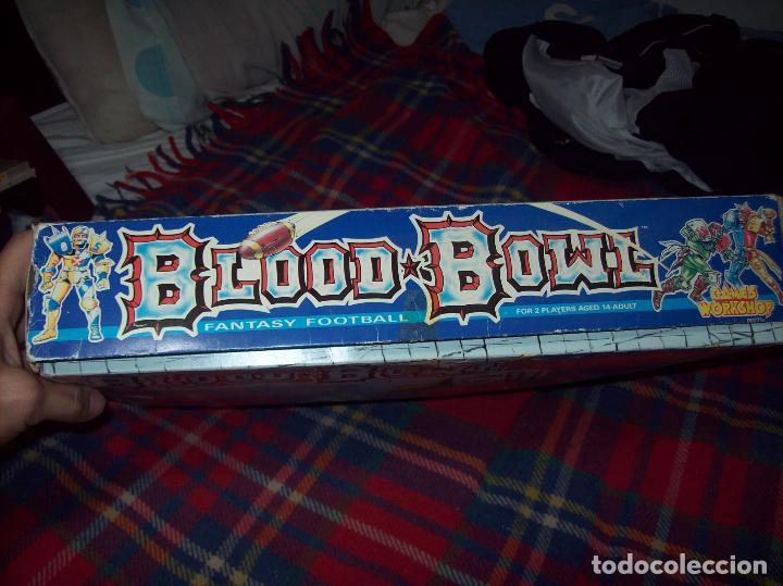 Juegos Antiguos: BLOOD BOWL.THE GAME OF FANTASY FOOTBALL (INCOMPLETO). JERVIS JOHNSON. 1ª EDICIÓN. - Foto 12 - 105338123