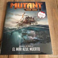 Juegos Antiguos: MUTANT YEAR ZERO - MANUAL DE ZONA 2: EL MAR AZUL MUERTO - JUEGO ROL - NOSOLOROL - PRECINTADO. Lote 105686511