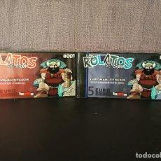 Juegos Antiguos: LOS ROLATOS DE CROM 1 Y 3. Lote 105892655