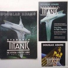 Juegos Antiguos: STARSHIP TITANIC GUÍA JUEGO PC DOUGLAS ADAMS AÑO 1998. Lote 106000335