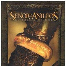 Juegos Antiguos: EL SEÑOR DE LOS ANILLOS JUEGO DE ROL (FACTORIA DE IDEAS). Lote 106102339