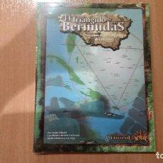 Juegos Antiguos: TRIANGULO DE LAS BERMUDAS DE LA LLAMADA DE CTHULHU D100 - LOVECRAFT - RASTRO DE CTHULHU - ROL. Lote 106190067