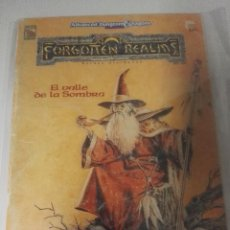Juegos Antiguos: ADVANCED DUNGEONS & DRAGONS 2ª EDICIÓNEL VALLE DE LA SOMBRA FORGOTTEN REALMS. Lote 107614367