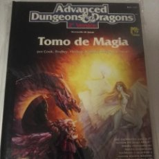 Juegos Antiguos: ADVANCED DUNGEONS & DRAGONS 2ª EDICIÓNTOMO DE MAGIA. Lote 107614583