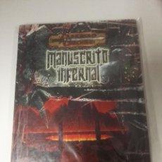 Juegos Antiguos: DUNGEONS DRAGONSMANUSCRITO INFERNAL. Lote 107614855