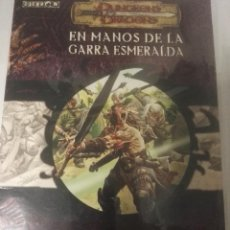 Juegos Antiguos: DUNGEONS DRAGONSEN MANOS DE LA GARRA ESMERALDA EBERRON. Lote 107614891