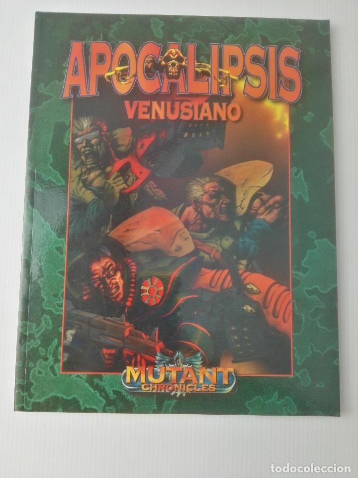 Juegos Antiguos: Mutant Chronicles	Apocalipsis Venusiano - Foto 1 - 107616499