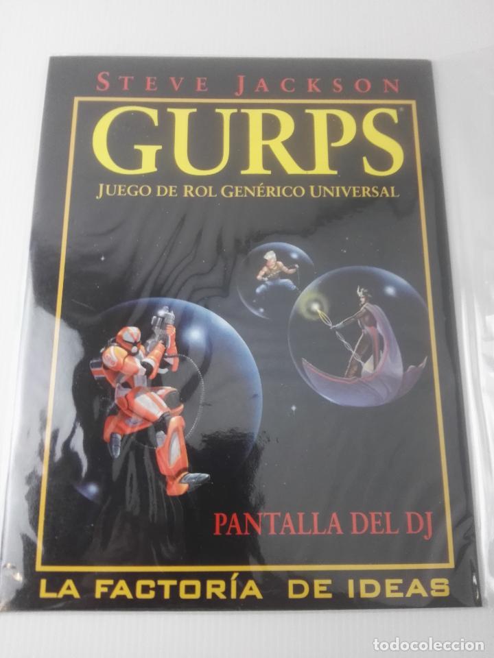 GURPSPANTALLA DEL DJ (Juguetes - Rol y Estrategia - Juegos de Rol)