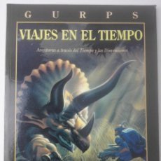 Juegos Antiguos: GURPSVIAJES EN EL TIEMPO. Lote 107617003