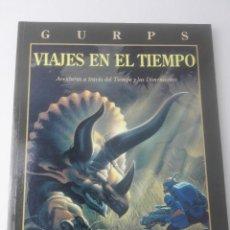 Juegos Antiguos: GURPSVIAJES EN EL TIEMPO. Lote 107617019