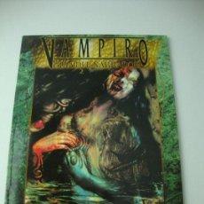 Juegos Antiguos: VAMPIRO LA MASCARADA VAMPIRO GUIA DEL NARRADOR. Lote 107618687