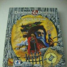 Juegos Antiguos: DUNGEONS DRAGONSLA GRIETA DEL TRUENO. Lote 107619023