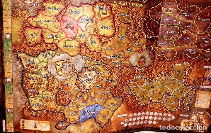 Juegos Antiguos: Tablero de World Of Warcraft El Juego De Tablero - Foto 2 - 107679383