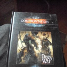Juegos Antiguos: CONFRONTATION PRIMERA AMPLIACION DOGS OF WAR -CASTELLANO- (RACKHAM) - TAPA DURA. Lote 108018911