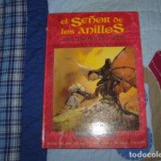 Juegos Antiguos: EL SEÑOR DE LOS ANILLOS , JUEGO DE AVENTURAS BASICO. Lote 108084759