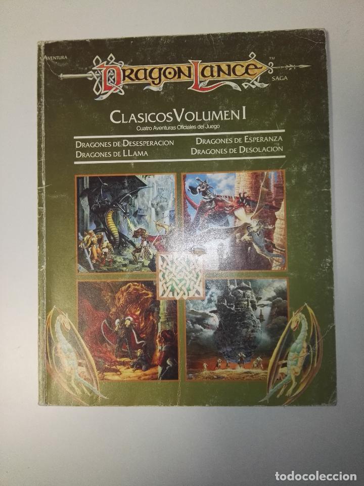 ADVANCED DUNGEONS & DRAGONS 2ª EDICIÓNDRAGONLANCE CLASICOS VOLUMEN I (Juguetes - Rol y Estrategia - Otros)