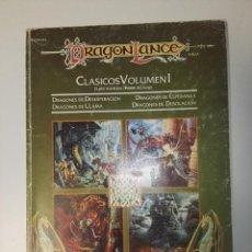 Juegos Antiguos: ADVANCED DUNGEONS & DRAGONS 2ª EDICIÓNDRAGONLANCE CLASICOS VOLUMEN I. Lote 108942103