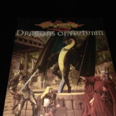 Juegos Antiguos: DRAGONS OF AUTUM. DRAGONLANCE. INGLÉS. Lote 109286268