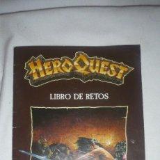 Juegos Antiguos: HERO QUEST LIBRO DE RETOS FOLLETO (JUEGO MB) AÑO 1990. Lote 109297923