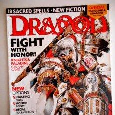 Juegos Antiguos: DRAGON Nº 299 KNIGHTS & PALADINS ( DUNGEONS & DRAGONS MAGAZINE ) EN INGLÉS. Lote 109448979