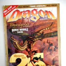 Juegos Antiguos: DRAGON ANNUAL Nº4 (DUNGEONS & DRAGONS MAGAZINE) EN INGLÉS. Lote 109450735