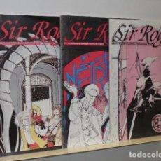 Juegos Antiguos: SIR ROGER REVISTA MENSUAL DE ESTRATEGIA, SIMULACION Y ROL LOTE Nº 1-2 Y 3 2ª EPOCA 1993-94 OCASION. Lote 110228447