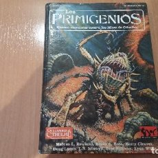 Juegos Antiguos: LOS PRIMIGENIOS - LA LLAMADA DE CTHULHU D100 - LOVECRAFT - ROL. Lote 110890447