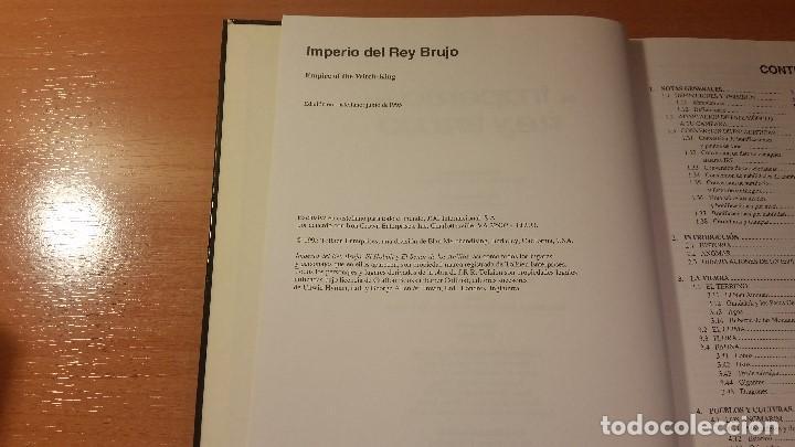 Juegos Antiguos: El Imperio del Rey Brujo - Señor de los Anillos - MERP - CODA - Tierra Media - Tolkkien - ROL - Foto 3 - 111781947