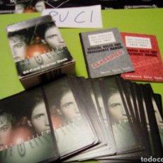 Juegos Antiguos: CAJA DE 60 TRADING CARD THE X FILES EXPEDIENTE X EN INGLÉS INCLUYE LIBRILLO DE INSTRUCCIONES. Lote 111930388