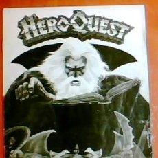 Juegos Antiguos: HEROQUEST MANUALES ORIGINALES. Lote 111986947