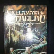 Juegos Antiguos: LA LLAMADA DE CTHULHU. JOC INTERNACIONAL 1992. MAGNÍFICO ESTADO SALVO POR UNA RAJITA EN EL LOMO. Lote 113027059