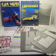 Juegos Antiguos: ROL, JUEGO DE DUELOS MOTORIZADOS CAR WARS + SUPLEMENTO EL CIRCUITO L'OUTRANCE, JOC INTERNATIONAL. Lote 113322783