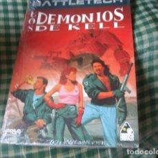 Jeux Anciens: BATTLETECH LOS DEMONIOS DE KELL PRECINTADO (DISEÑOS ORBITALES) FASA. Lote 113567667