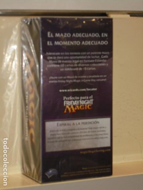 Juegos Antiguos: MAGIC ASCENSO SINIESTRO MAZO DE EVENTO ESPIRAL A LA PERDICION - Foto 2 - 134405126