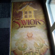 Juegos Antiguos: GRAN BANDERA TELA 140X70 MAGIC THE GATHERING SAVIORS. Lote 115295094