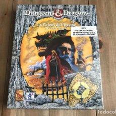 Juegos Antiguos: DUNGEONS & DRAGONS - LA GRIETA DEL TRUENO - JUEGO DE ROL - BORRAS - TSR - PRECINTADO - BASIC D&D. Lote 115341147