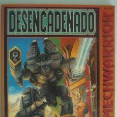Juegos Antiguos: LIBRO DESENCADENADO UNA AVENTURA PARA MECHWARRIOR REF. 012 CASTELLANO ESPAÑOL EDICIONES ZINCO FASA. Lote 115404827