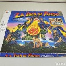 Juegos Antiguos: 818-LA ISLA DE FUEGO MB 1987. Lote 115578943
