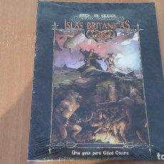 Juegos Antiguos: ISLAS BRITÁNICAS - MUNDO DE TINIEBLAS - VAMPIRO EDAD OSCURA - HOMBRE LOBO - INQUISICIÓN - ROL. Lote 115838935