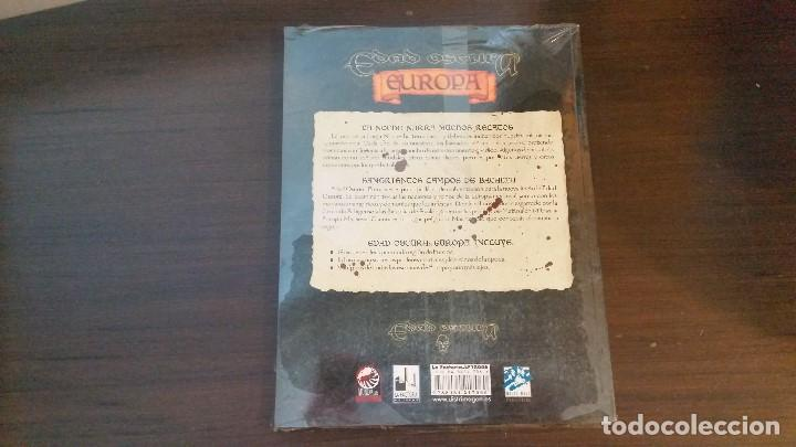 Juegos Antiguos: Europa Nocturna - Mundo de Tinieblas - Vampiro Edad Oscura - Hombre Lobo - Inquisición - ROL - Foto 2 - 115839427