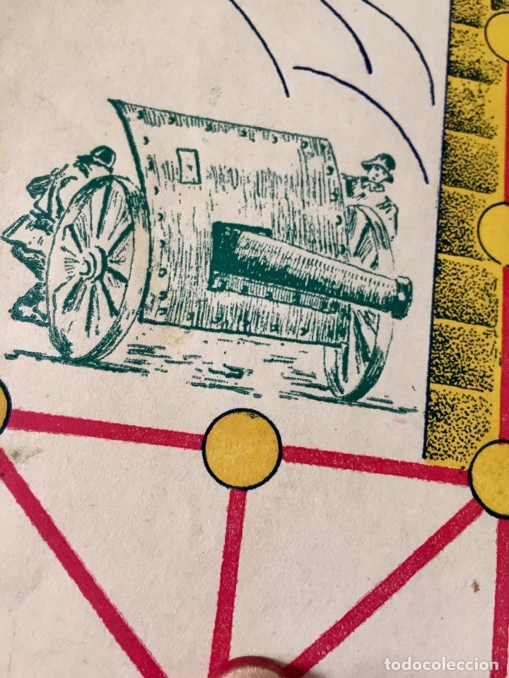 Juegos Antiguos: Antiguo juego el asalto al castillo 1920 original completo peones generales instrucciones luiter - Foto 9 - 178833910