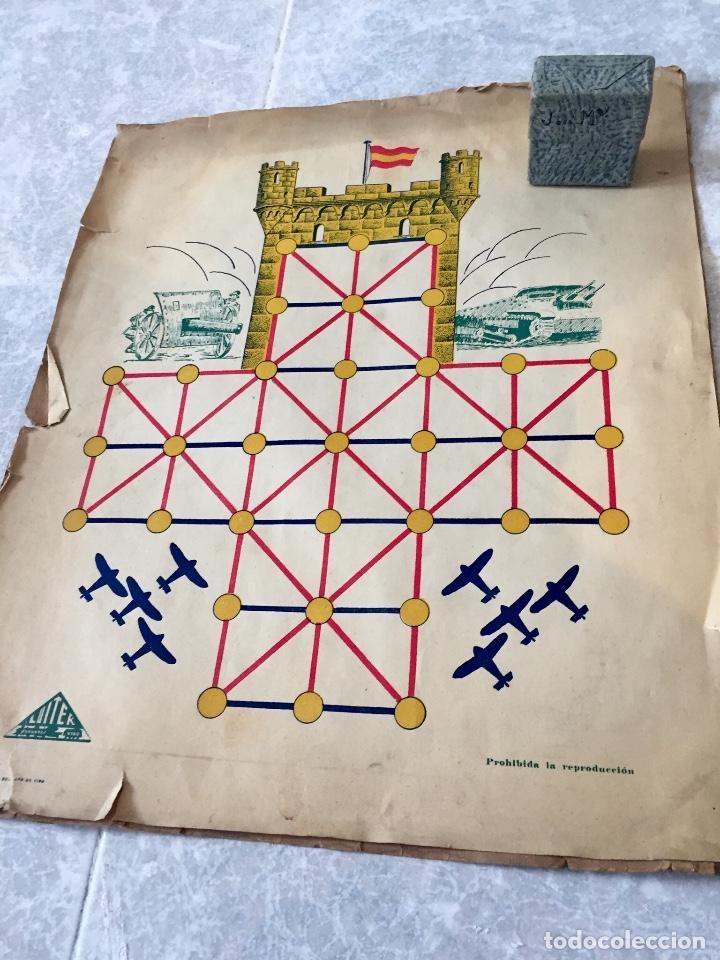 Juegos Antiguos: Antiguo juego el asalto al castillo 1920 original completo peones generales instrucciones luiter - Foto 23 - 178833910