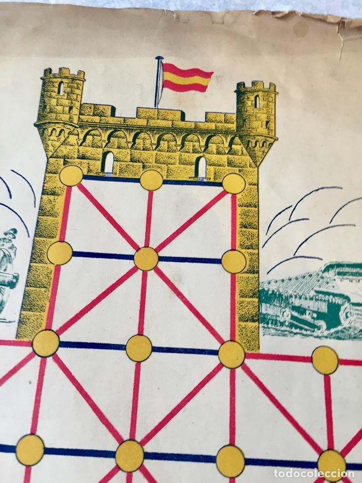 Juegos Antiguos: Antiguo juego el asalto al castillo 1920 original completo peones generales instrucciones luiter - Foto 25 - 178833910